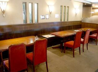 Tomisu亭テーブル席